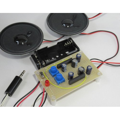 ステレオアンプ回路キット