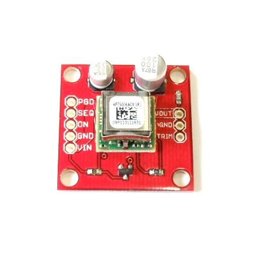 DC-DCコンバータモジュール・ピッチ変換済みボード(最大6A)