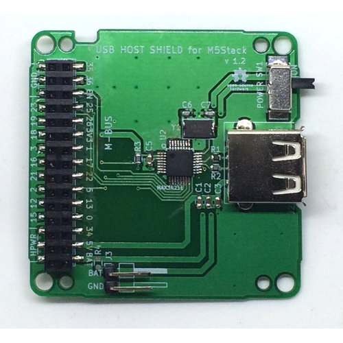 USB Host Shield for M5Stack