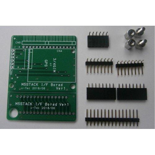 M5Stack用 3GIMアダプタボード