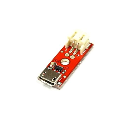 小型のリチウムイオン電池充電器(マイクロUSBタイプ)