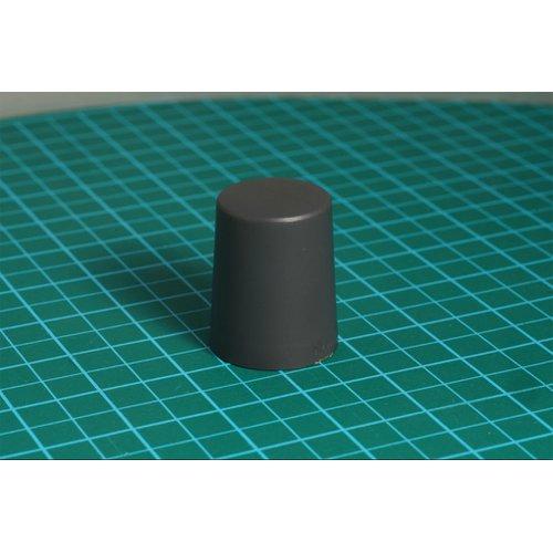 ニブルス・プリン15(ダークグレー) ロータリーエンコーダー用つまみ
