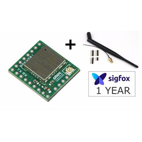 Sigfox Breakout board BRKWS01 RC3