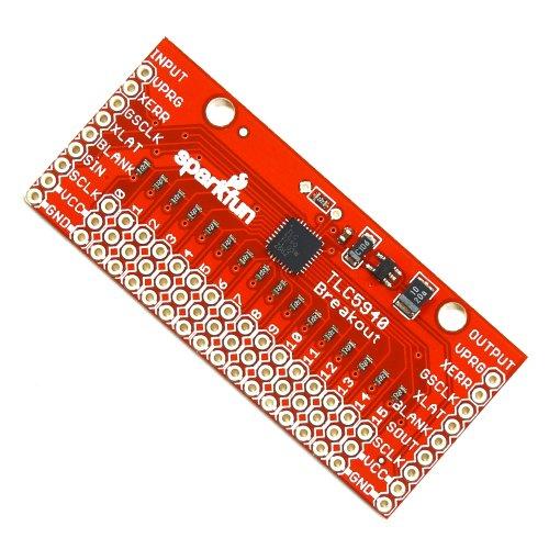 TLC5940ピッチ変換ボード