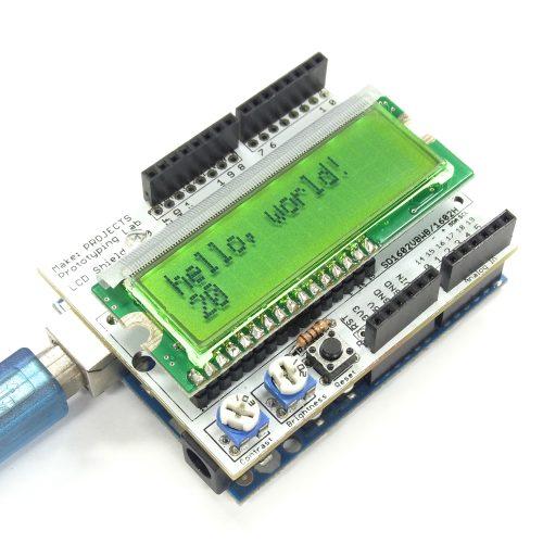 LCDシールドキット(緑)
