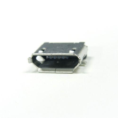 USB-MicroBコネクタ(SMT,メス)1+1個パック--販売終了