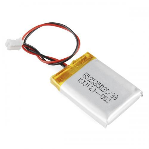 リチウムイオンポリマー電池400mAh--販売終了