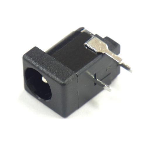 ブレッドボードで使えるDCジャック(2.1mm)