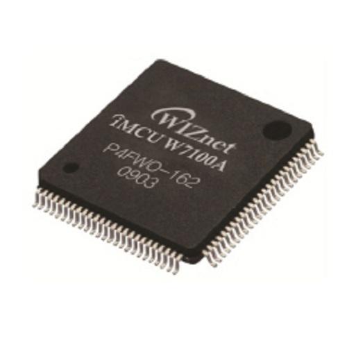 TCP/IPハードウェア処理チップ(8051マイコン搭載)「W7100A」