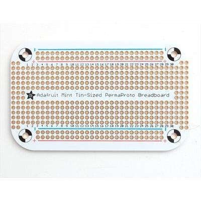 Adafruitミント缶サイズブレッドボード型基板