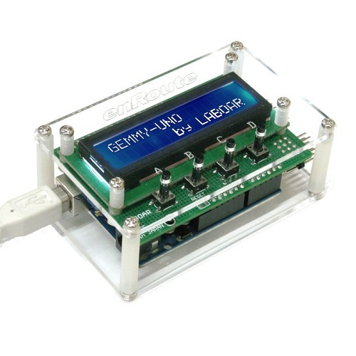 Arduino用GEMMY-UNOシールドキット(アクリル板付き)