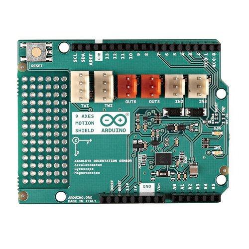 Arduino 9軸モーションシールド