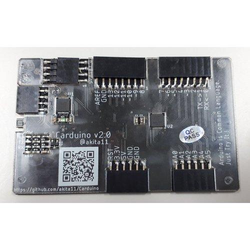 Carduino(カード型Arduino互換ボード)