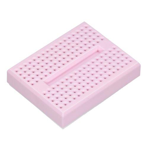 小さいブレッドボード(ピンク)