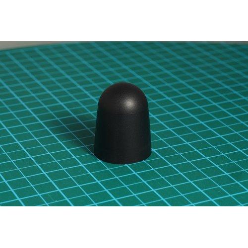 ニブルス・ドーム15(黒) ロータリーエンコーダー用つまみ