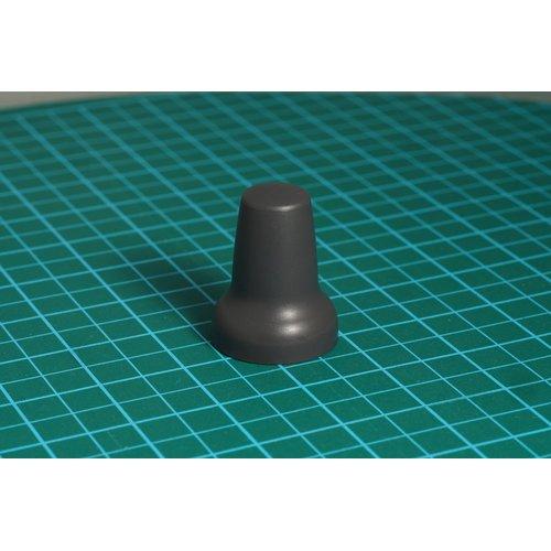 ニブルス・メキシカン15(ダークグレー) ロータリーエンコーダー用つまみ