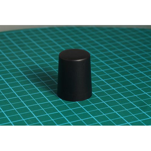 ニブルス・プリン15(黒) ロータリーエンコーダー用つまみ
