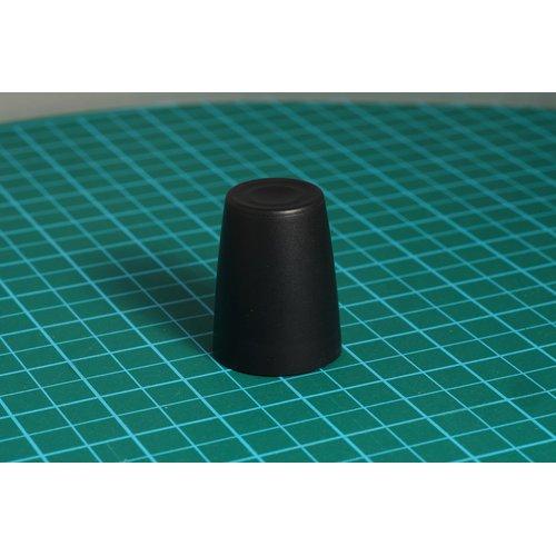 ニブルス・リップル15(黒) ロータリーエンコーダー用つまみ
