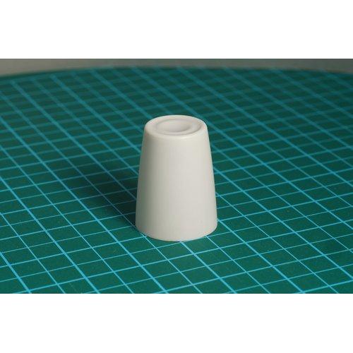 ニブルス・リップル15(白) ロータリーエンコーダー用つまみ