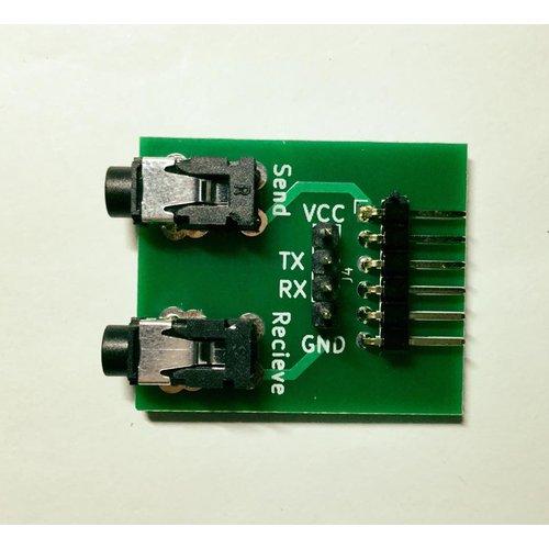 JACK-シリアル接続基板02 - JACK-Serial-BOARD02