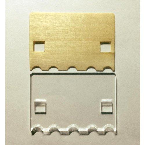 micro:bit用遮光パネル板--在庫限り