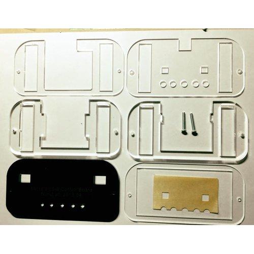 micro:bit用スイッチコントローラー用アクリルケース--在庫限り