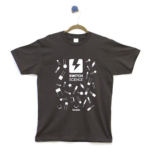 Kuralab.コラボ Tシャツ(S)--在庫限り