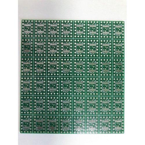 LPC810化基板のみ(LPC81Xto810-NOCUT)