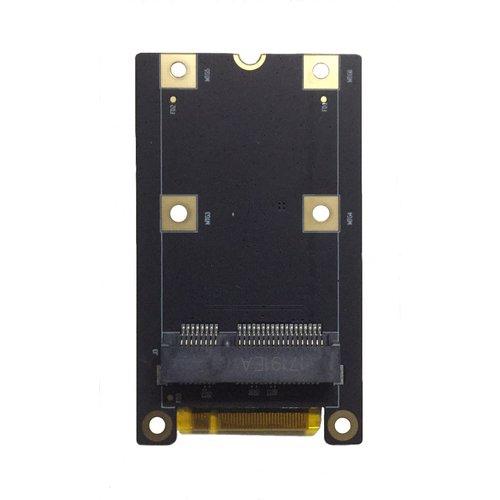 PCI Express 2.0コネクタをM.2 KeyMからmini-PCIeに変換するアダプタ(Hikey 960用)