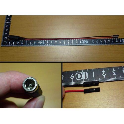 DCプラグ変換ケーブル(QIメス)