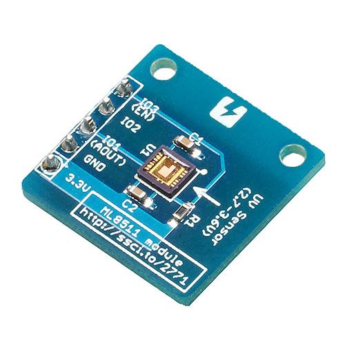 Conta™ 紫外線センサモジュール ML8511搭載
