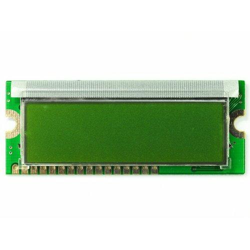 超小型LCDキャラクタディスプレイモジュール(16×2行 緑バックライト 黒文字)