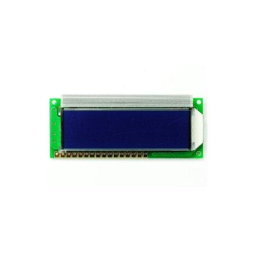 超小型LCDキャラクタディスプレイモジュール(16×2行 青バックライト 白文字)