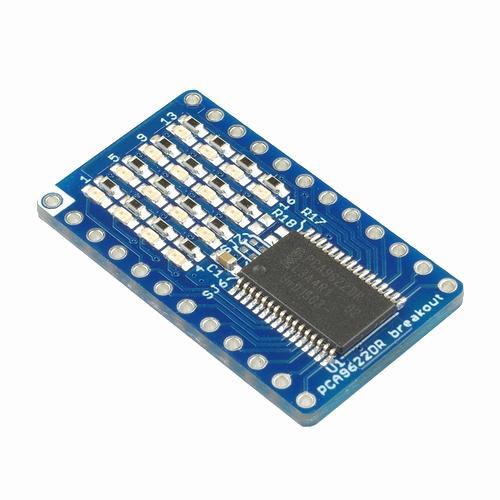 PCA9622DR I2C 16ch LEDドライバ基板