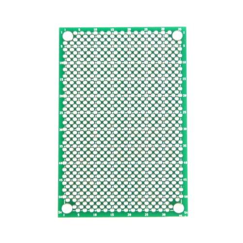 奇天烈(ジグザグ)ユニバーサル基板 Cタイプ(72×48mm)
