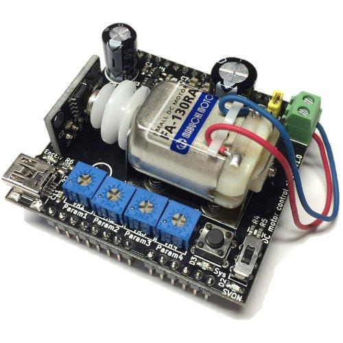 DCモータ制御シールドV1.0