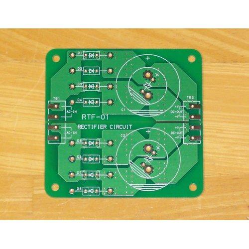 パワーアンプ用電源整流基板 RTF-01