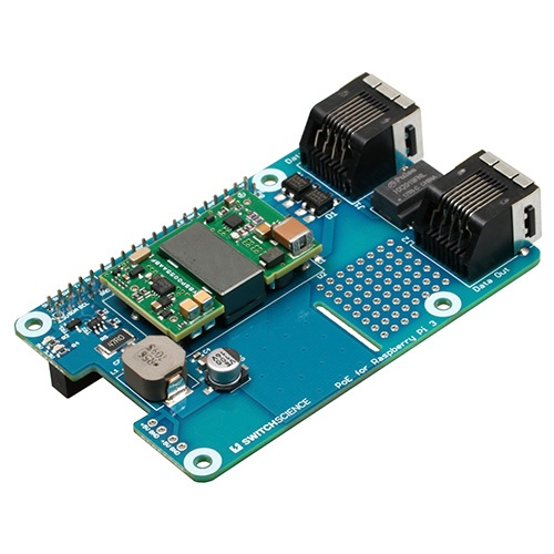 Raspberry Pi 3対応PoE基板