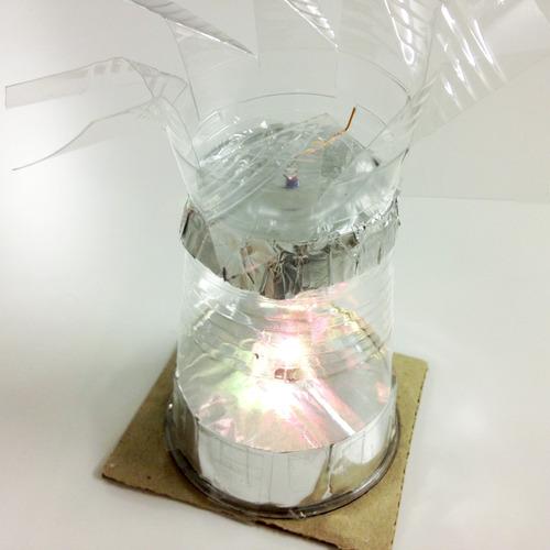 風で回るルームライト -光の屈折- 小一対象実験工作キット