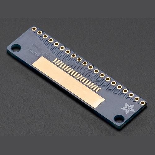 Adafruit FPCスティック(20ピン 0.5mm/1.0mm ピッチ変換基板)