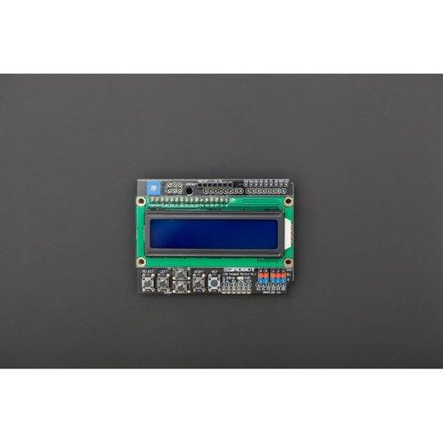 《お取り寄せ商品》Gravity: 1602 LCD Keypad Shield For Arduino