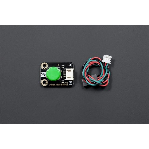 《お取り寄せ商品》Gravity: Digital Push Button (Green)