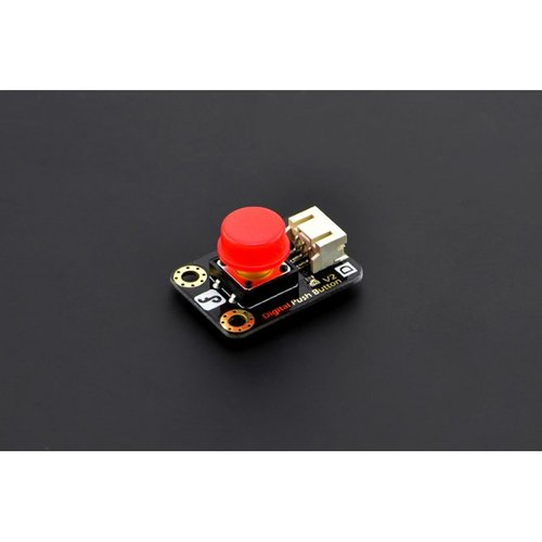 《お取り寄せ商品》Gravity: Digital Push Button (Red)-DFRobot