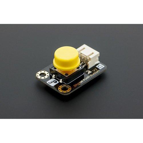 《お取り寄せ商品》Gravity:Digital Push Button (Yellow)