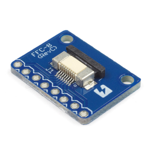 FeliCa Plug ピッチ変換基板のセット (フラットケーブル付き)