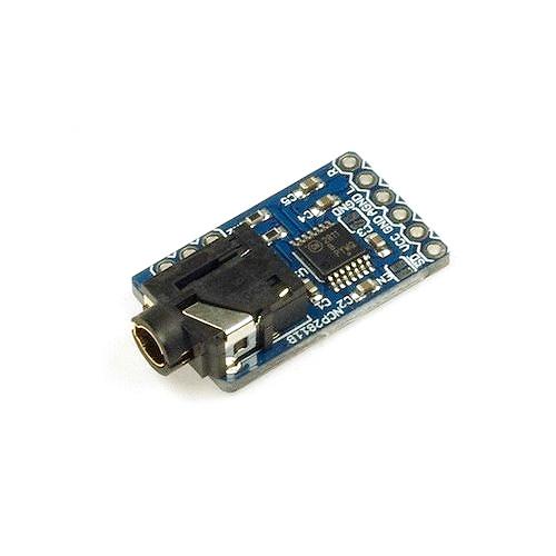 NCP2811 ステレオヘッドフォン変換基板