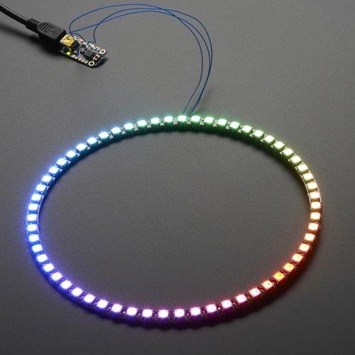 NeoPixel Ring - 1/4 60連フルカラーシリアルLED