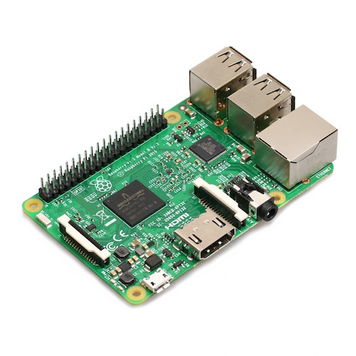 Raspberry Pi 3 Model B(RSコンポーネンツ UK製)--在庫限り