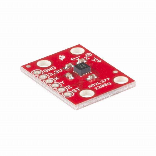 ADXL377搭載三軸加速度センサモジュール