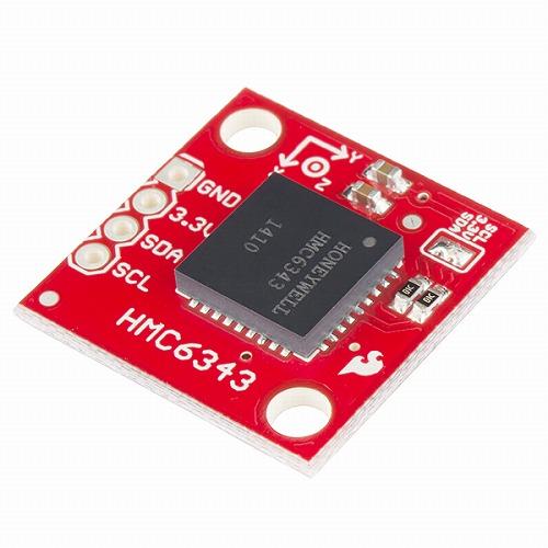 HMC6343搭載デジタルコンパスモジュール